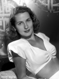 Brenda Marshall on a Midriff and Leaning Pose