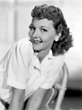 Mary Martin Leaning Forward and smiling Portrait