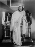 Joan Crawford wearing a White Dress in a Classic