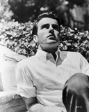 Montgomery Clift Portrait wearing White Sleeves