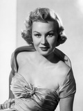 Virginia Mayo Posed in Dress with Hand on Hip