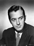 John Payne wearing a Suit in a Classic Portrait