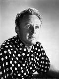 Van Johnson in polka dot With White Background