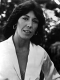 Lily Tomlin Portrait in Classic with Hook Earrings