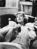 Joan Crawford Relaxing on the Couch in Classic