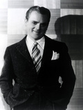 James Cagney standing in Tuxedo Classic Portrait