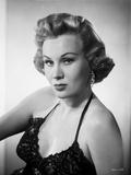 Virginia Mayo Posed in Dress Classic Portrait