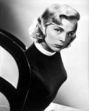 Lizabeth Scott Close Up Portrait in Black and White