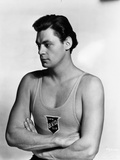 Johnny Weissmuller wearing a Tank top in a Portrait