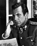 Maximilian Schell in Military Official With Phone