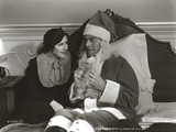 George Burns in Santa Claus Outfit Classic Portrait