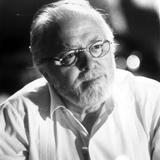 Richard Attenborough in White Polo With Eyeglasses