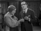 Al Jolson Making a Creepy Face for the Old Lady