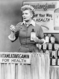 Lucille Ball Tasting Medicine in Movie Scene
