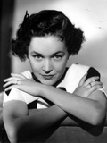 Maureen O'Sullivan Leaning with Arms Crossed