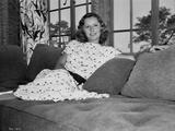 Barbara Stanwyck sitting Classic Portrait