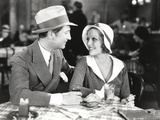 Loretta Young Lovers wearing Cap in a Date