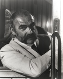 Sean Connery with Mustache in Formal Outfit