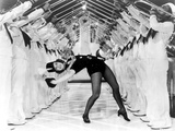 Eleanor Powell on a Bending Backward Pose