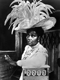 Pearl Bailey wearing Big Feather Hat Portrait