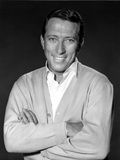 Andy Williams in Suit With Black Background