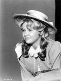 Hayley Mills wearing a Hat with Curly Hair