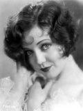 Nancy Carroll Portrait in Black and White