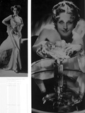 Norma Shearer Two Picture Collage in Classic