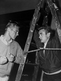 James Dean and Tab Hunter Posed in Classic