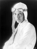 Amelia Earhart on Jet Pilot Costume Portrait