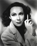 Dolores Del Rio Holding Cigarette in Classic
