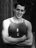 Matthew Broderick in Tank top With Necklace