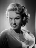 Virginia Mayo Posed in Black and White Portrait