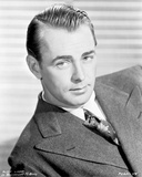 Alan Ladd Lying and Looking at the Camera
