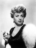 Shelley Winters Holding Cigarette in Classic
