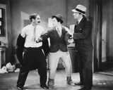 Marx Brothers Fighting in Classic Portrait