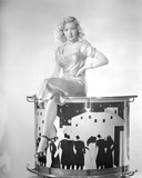 Portrait of Gloria Grahame in a Sexy Outfit