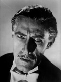 John Carradine in Black and White Portrait