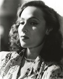 Dolores Del Rio Portrait wearing Floral Dress