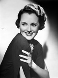 Mary Astor on a Dark Top Side view Portrait