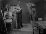 Al Jolson Dancing with a Woman Inside the House