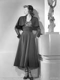 Gloria Grahame wearing Black Dress Portrait