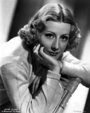 Irene Dunne on Knitted Full Sleeve Portrait