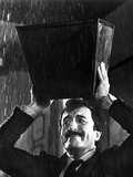 Peter Sellers in Black Suit With Carrying Box