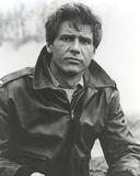 Harrison Ford wearing Black Leather Jacket