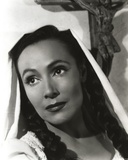 Dolores Del Rio Portrait wearing Nun Uniform