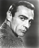 Sean Connery Posed Side View Close Up Portrait