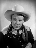 Roy Rogers Posed with White Background