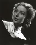 Loretta Young Vintage Black and White Dress