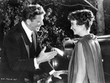 Elmer Gantry Couple Scene in Black and White